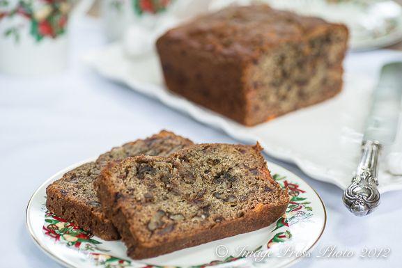 Persimmon Bread with Bourbon, Dates, and Walnuts | Recipe