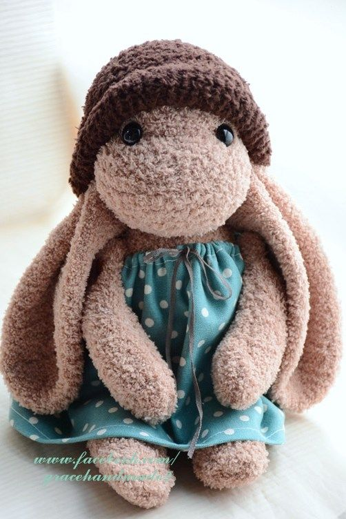 Grace--#349 sock rabbit