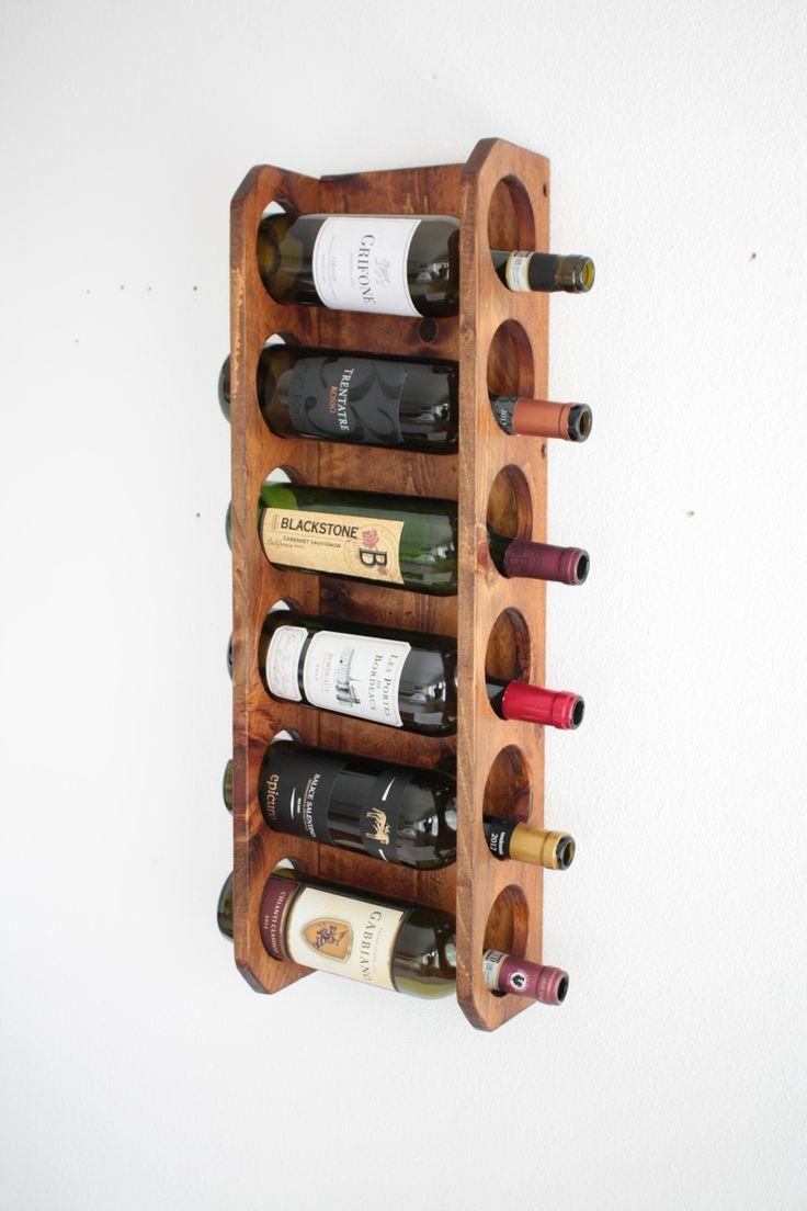 Best 25+ Wood wine racks ideas on Pinterest   Wood wall ...