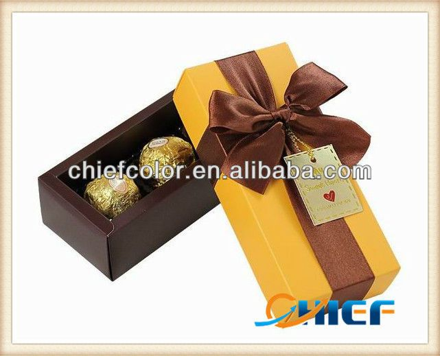 Cheap Golden Chocolate Craft Box from Xiamen Chiefcolor T/D Co. Ltd. & 105 best Chocolate Paper Boxes images on Pinterest | Paper boxes ... Aboutintivar.Com