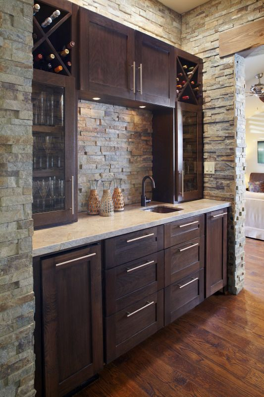 Kitchen Backsplash Ideas That Will Brighten And Modernize Your Kitchen With Cabinets Diy For Big And Small Ki Home Bar Designs Basement Kitchen Bars For Home