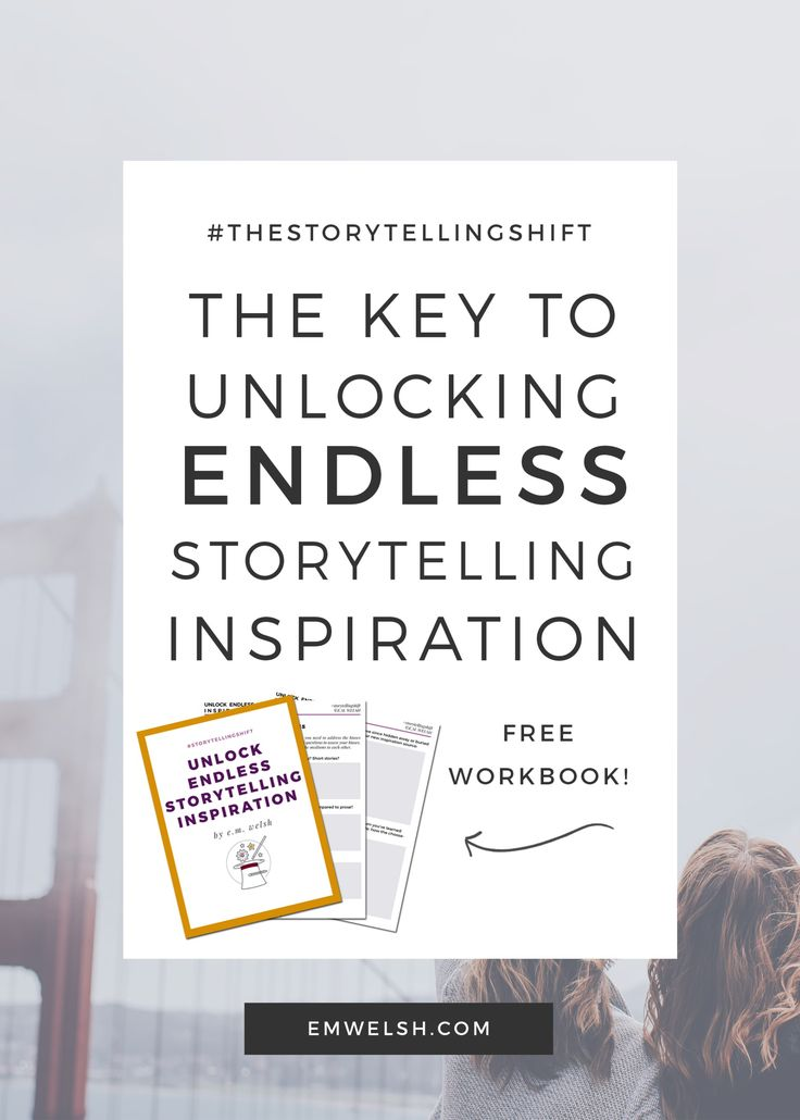 Find the key to unlocking endless storytelling inspiration – it's not where you'd expect it! #writing