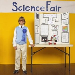 Easy, one-day middle school science fair projects. (This may come in handy one day...)