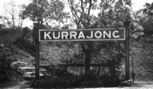 Kurrajong Station which no longer exists...