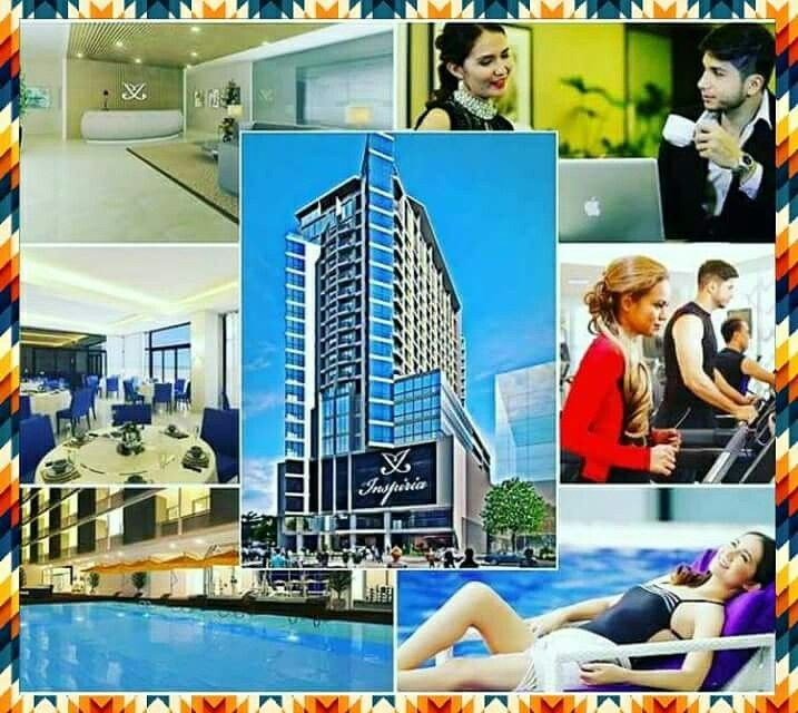 Inspiria High end Condo in davao city !!!infront of Ayala Abreeza mallmof davao !!!21storey Mixed use Residential/Commercial condo.Turn over of unit 2018 !!!
