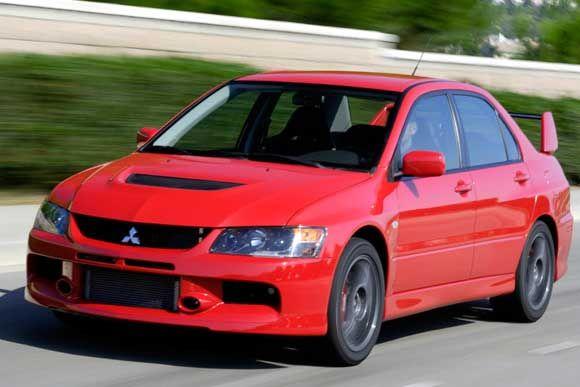 Conheça Todos Os Dados Técnicos Do Mitsubishi Lancer Evolution IX MR 2.0  Turbo 2006