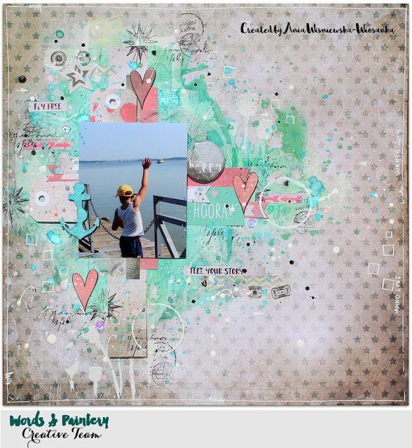Hooray - Words & Paintery