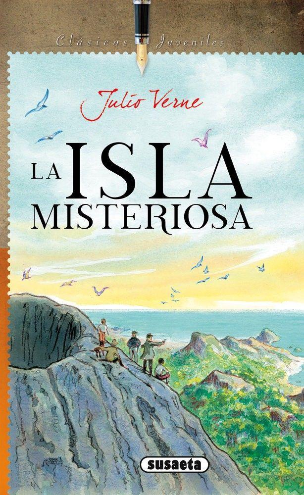 La Isla Misteriosa Julio Verne Francia 1874 Portadas De Libros Islas Misterioso