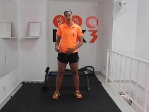 Mix 3 Treinamento Funcional em casa: fortalecimento para joelho. Parte 1