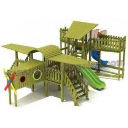 Anaokulu Uçak Çocuk Oyun Parkı