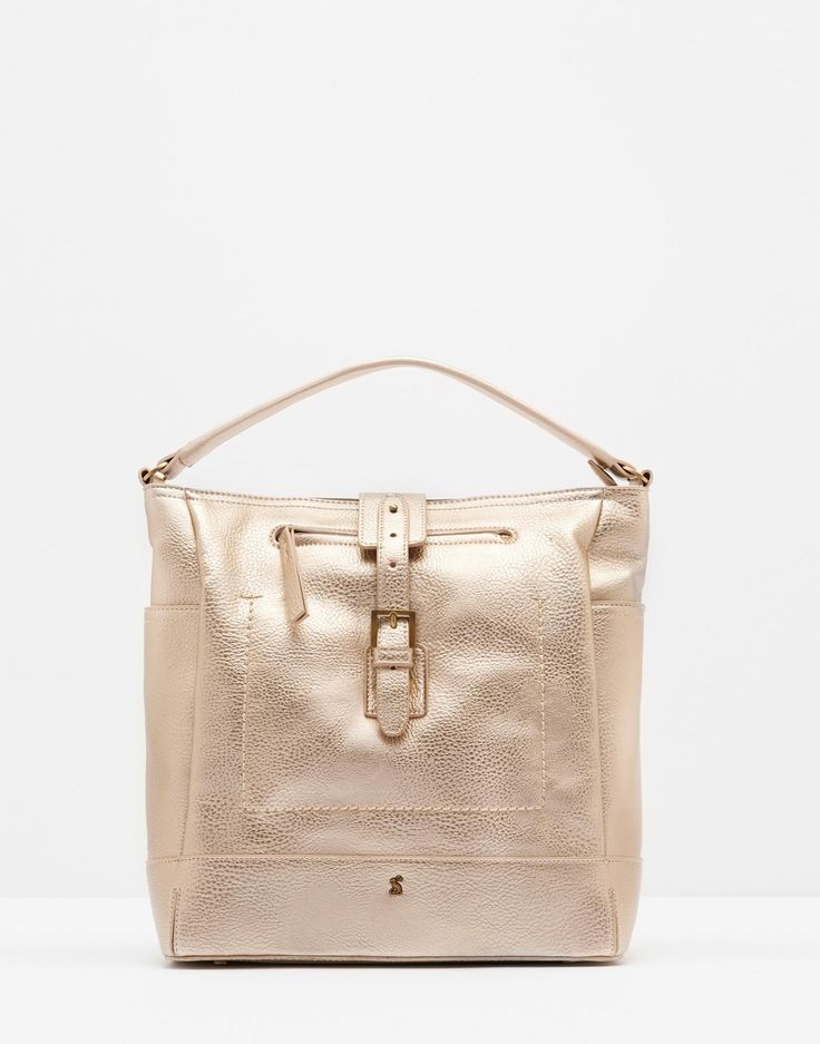 Belsize bright Rose Gold Tote Bag , Size One Size | Joules UK