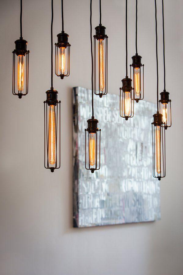 Mit Ihren Neun Dekorativen Leuchtköpfen Sorgt Die Pendelleuchte DAGMAR 9  Flammig Für Ein Stimmungsvolles Lichtkonzept.