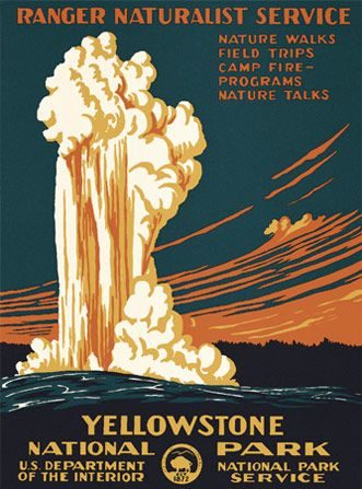 The WPA posters are some of my favorite designs. They're timeless and they're genuine, capturing the adventure and free spirit that our National Parks inspire.