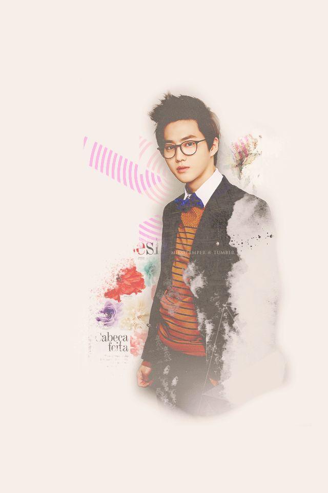 Exo Kai Iphone Wallpaper Dont miss Flower Boy K...
