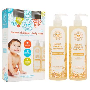 The Honest Company Shampoo and Body Wash 2-17 oz