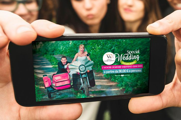 Creare e Comunicare | web agency Roma - Web marketing | Il matrimonio su misura si fa conoscere e apprezzare grazie a campagne advertising web and social