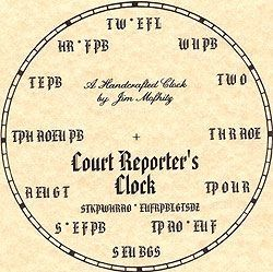 court reporter time