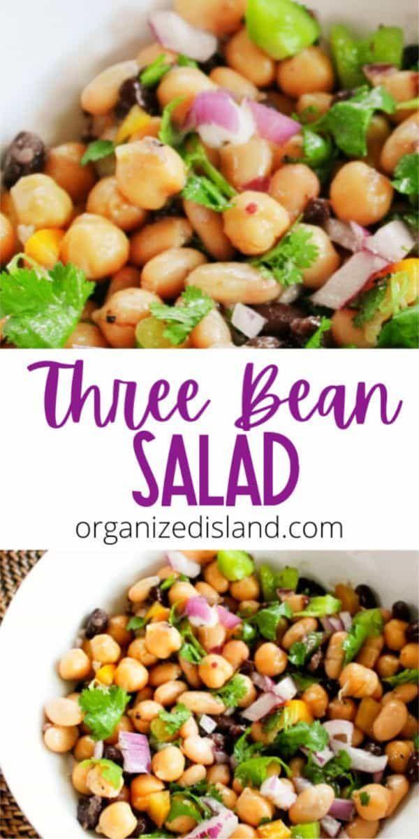Updated Three Bean Salad Recipe In 2020 Bean Salad Recipes Three Bean Salad Bean Salad