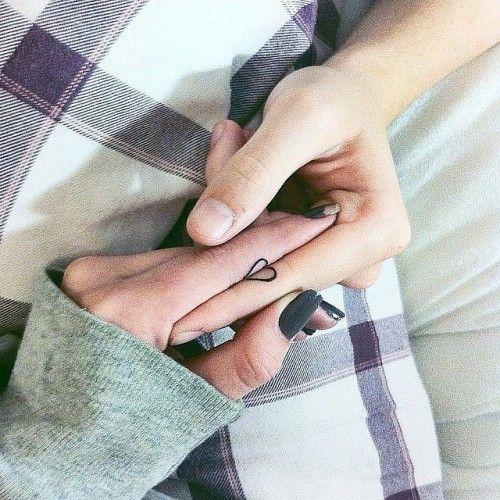 tatuaggio complementare cuore