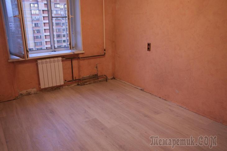 Можно ли заменить пол за один день в квартире? Можно! |