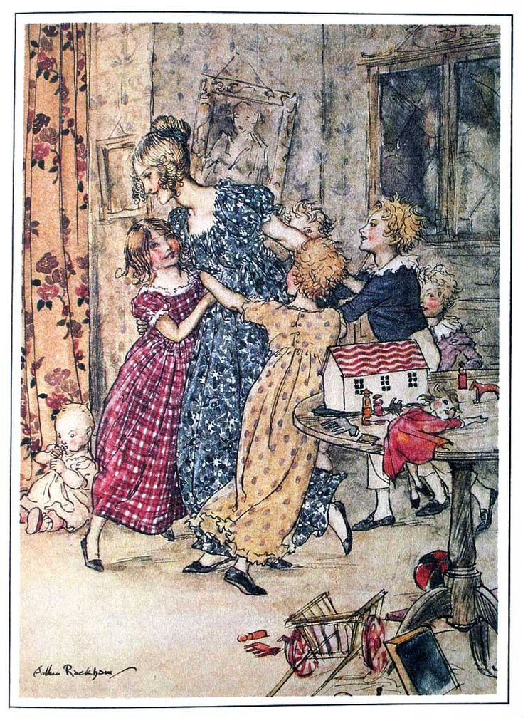 Arthur Rackham A Christmas Carol 1915 2 Christmas