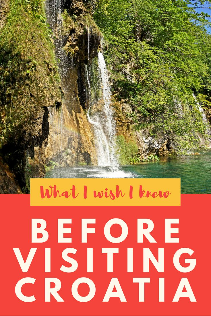 What to know before visiting Croatia.