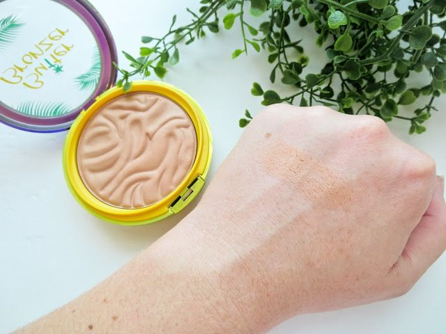 Blossom in Blush -  Physician's Formula Butter Bronzer in Light Bronzer (swatch)