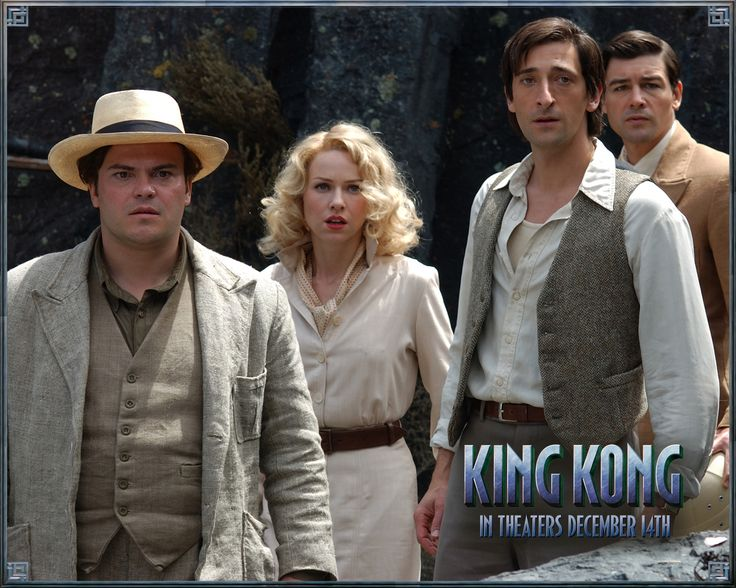 Watch Streaming HD King Kong, starring Naomi Watts, Jack Black, Adrien Brody, Thomas Kretschmann. In 1933 New York, an overly ambitious movie producer coerces his cast and hired ship crew to travel to mysterious Skull Island, where they encounter Kong, a giant ape who is immediately smitten with leading lady Ann Darrow. #Action #Adventure #Drama #Romance http://play.theatrr.com/play.php?movie=0360717