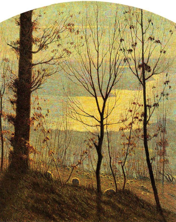 Vittore Grubicy de Dragon - Inverno (Winter, 1898)