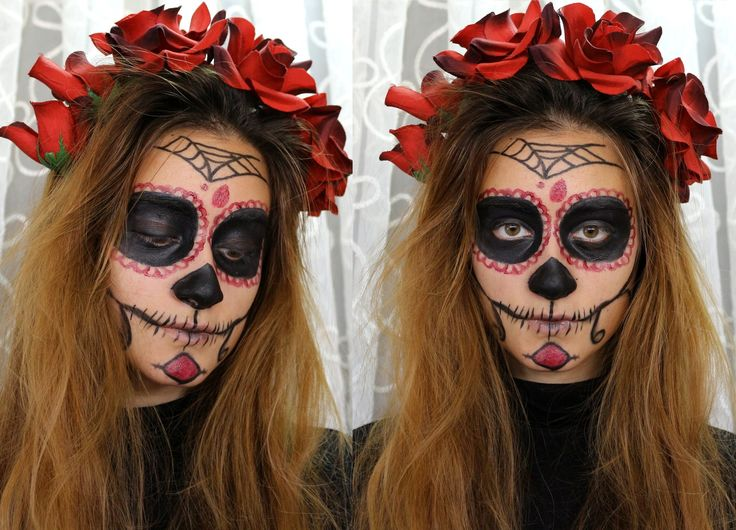 Cadılar Bayramı Makyajı | Day Of the Dead | ilgislook