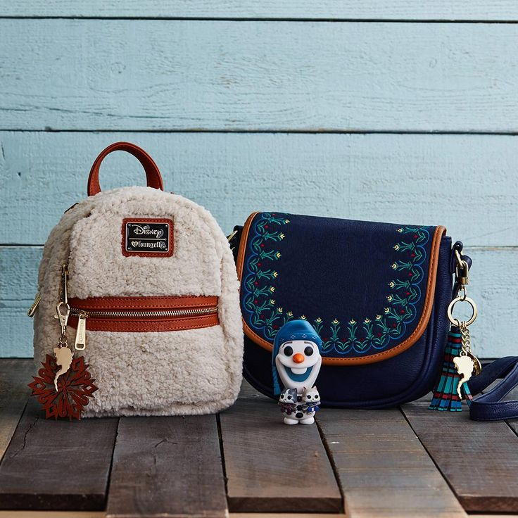 Some bags are worth melting for | Loungefly Disney Frozen Mini Backpack and Crossbody Bag