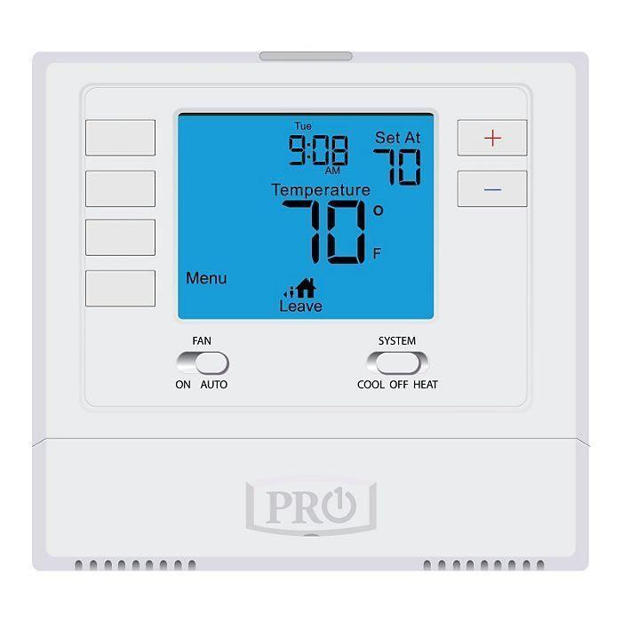 Pro1 T705 T700 Platform 5 1 1 Programmable 1h 1c With 4 Display Iaq Heat Pump Cool Stuff