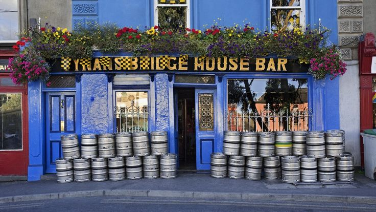 Man Made Building  Ireland Pub Wallpaper