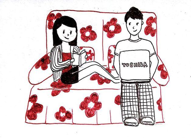 """Namorar a distância é uma daquelas coisas que só quem já na passou na pele pode descrever a sensação. Angústia, saudadeeciúmes estão entre os sentimentos corriqueiros mais citados desse tipo de relacionamento. E por que não transformá-los em arte? """"Eu e o meu namorado vivemos um relacionamento a distância durante 3 anos. E eu ..."""