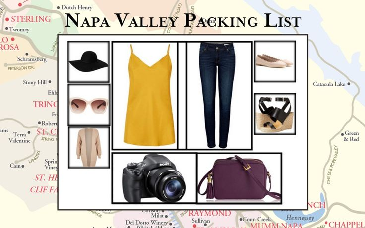 What to pack and wear in the Napa Valley