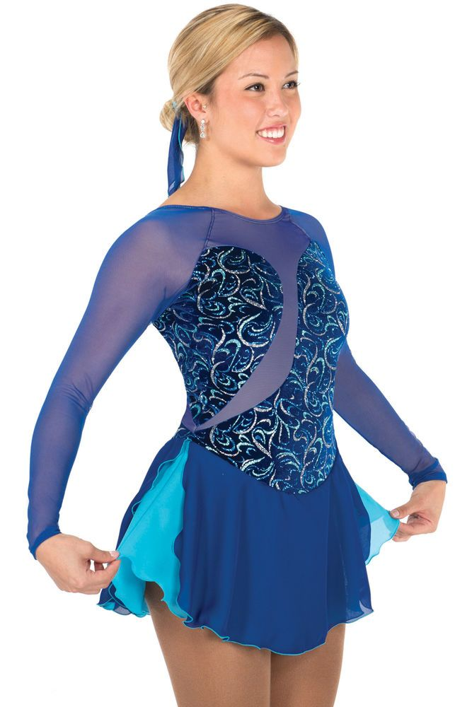 COMPETITION SKATING DRESS JERRY 680 KHARMA ON ORDER 3 WEEKS FABRICATION