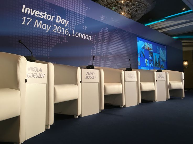 Conference / event design for the 2016 VTB Investor Day.