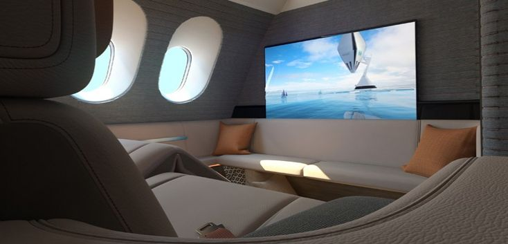 Nobody enjoys long-haul plane journeys. They're cramped, noisy, either too hot or too cold, and it's almost impossible to get comfortable, even in first class. All this could very well change in the near future, however, if Seymourpowell has anything...