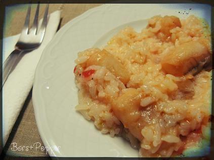 Bors&Pepper: Arroz de tamboril, azaz ördöghalas rizs