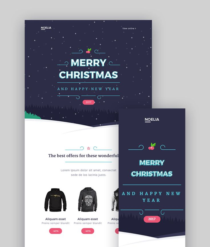 Best 25 mailchimp newsletter templates ideas on pinterest for Christmas newsletter design ideas