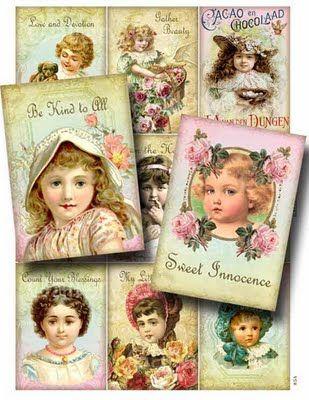 http://www.decoupage.net.br/2011/08/criancas-em-postais-antigos.html