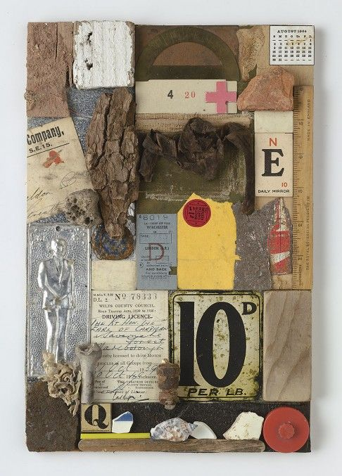Peter Blake. Love his collage's.