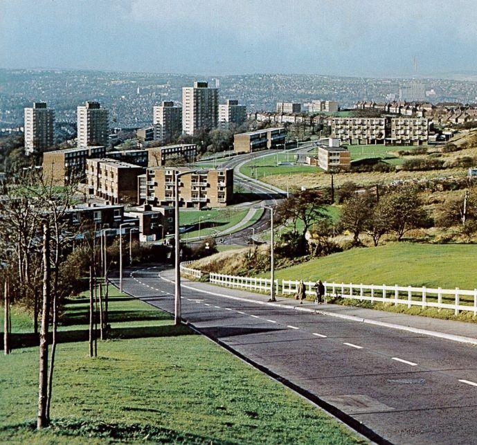 Gleadless Valley, Sheffield (United Kingdom).