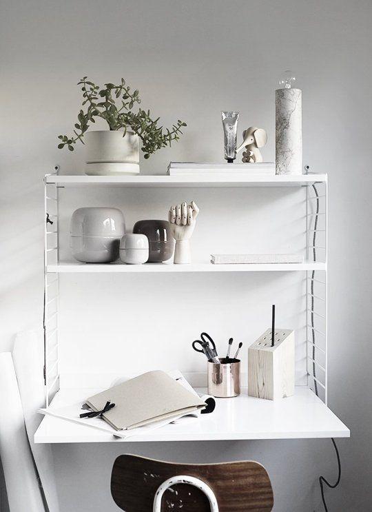 Meubels die je niet de hele dag door gebruikt maar wel nodig zijn zijn bijvoorbeeld je tafel en je bureau. Hoe kun je in een kleine ruimte toch een tafel en/of bureau plaatsen?