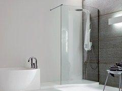 Box doccia angolare con piatto BOMA | Box doccia - Rexa Design