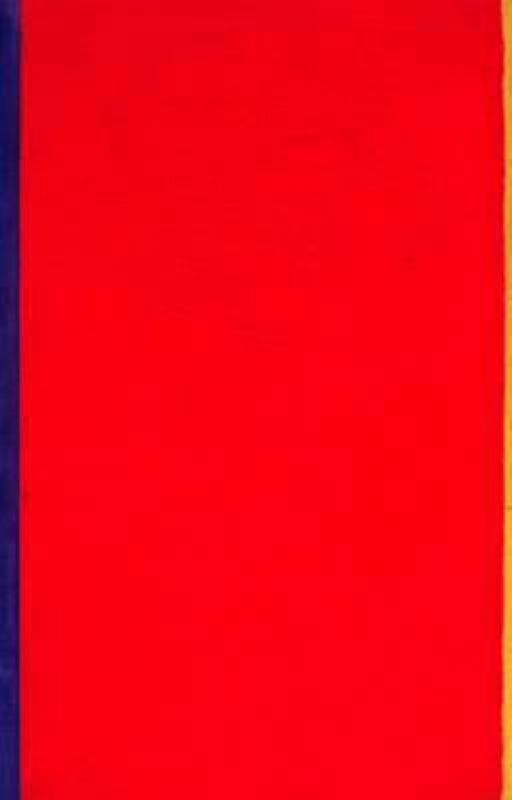 Barnett Newman, Who's Afraid of Red, Yellow, and Blue I