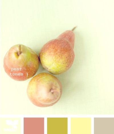 pear tonesColors Combos, Kitchens Colors, Design Room, Bedrooms Design, Room Colors, Living Room, Colors Palettes, Colors Schemes, Pears Tone