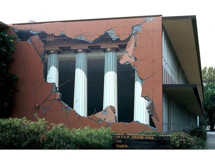 Taylor Hall building illusion.