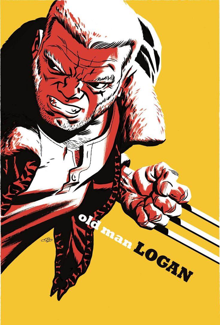 Old Man Logan - Michael Cho Variant