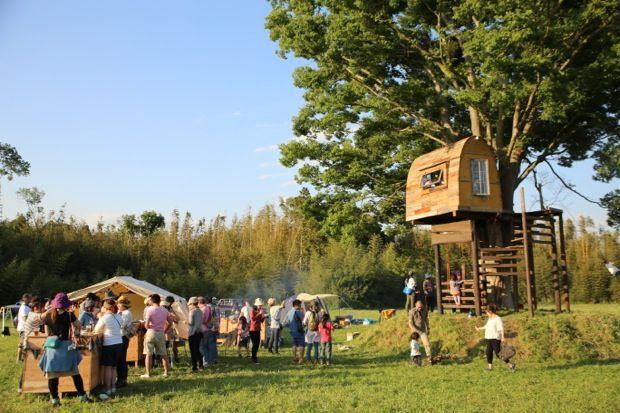 ツリーハウスも完成した「一番星ヴィレッジ 市原オートキャンプ場」